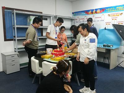 华融凯员工生日会