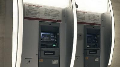 """""""智能ATM机""""银行 服务便捷"""