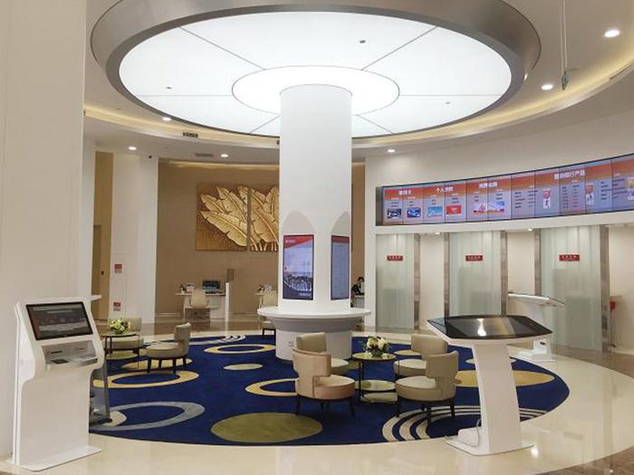 工商银行与华融凯智慧银行终端设备合作案例